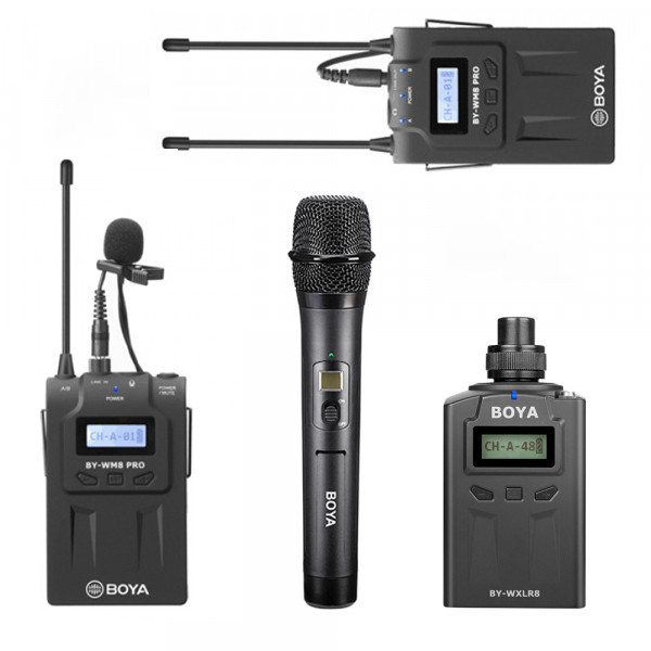 Boya RX8 Dual Transmitter Set