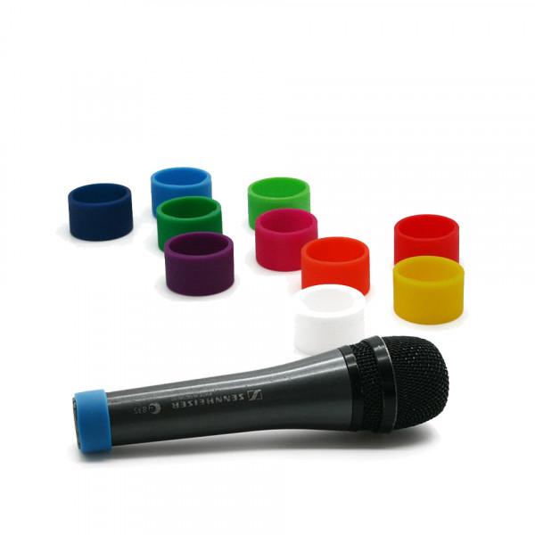 Codeerringen multicolour (M) voor handheld microfoons