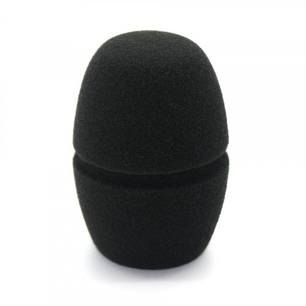 Plopkap FC1805 schuimrubber zwart