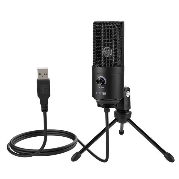 Fifine K669 USB opname microfoon