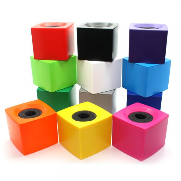 Microfoonflag kubus onbedrukt