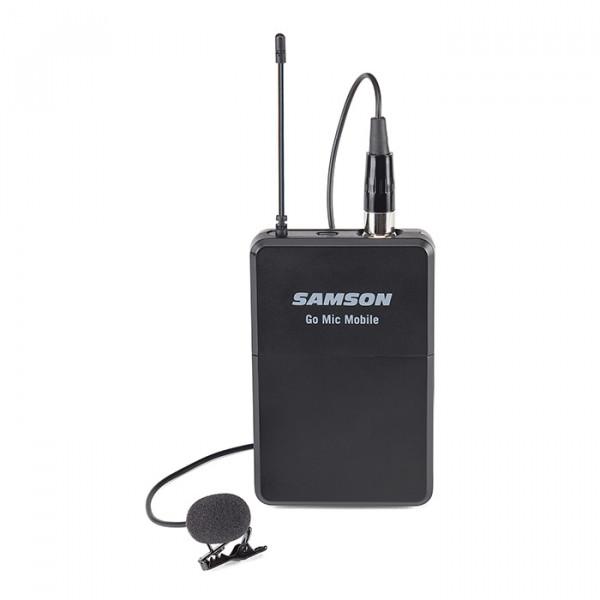 Samson Go Mic Mobile Beltpack transmitter met lavalier