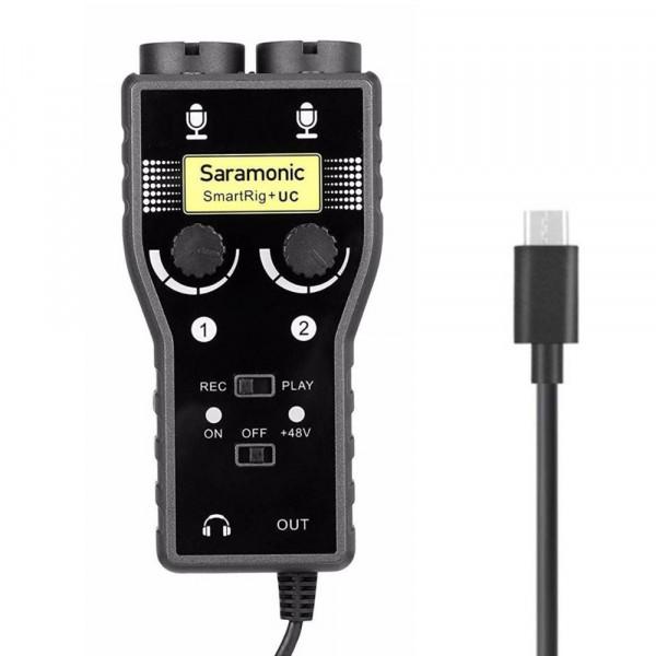 Saramonic mic adapter SmartRig+ UC