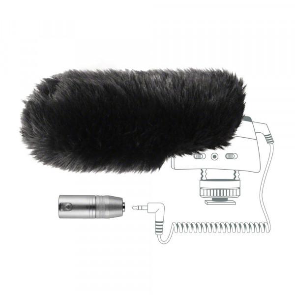 Sennheiser MZW400 plopkap + adapter