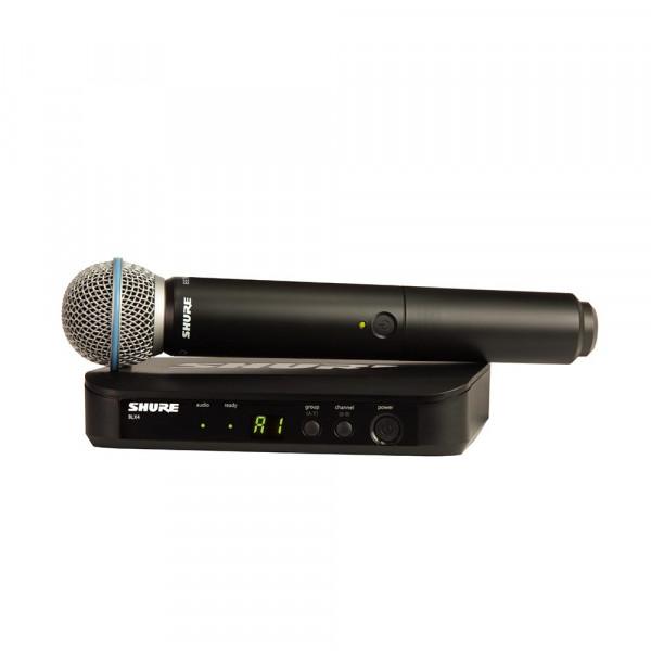 Shure BLX24E/B58 K14 (614-638 MHz) handheld draadloos