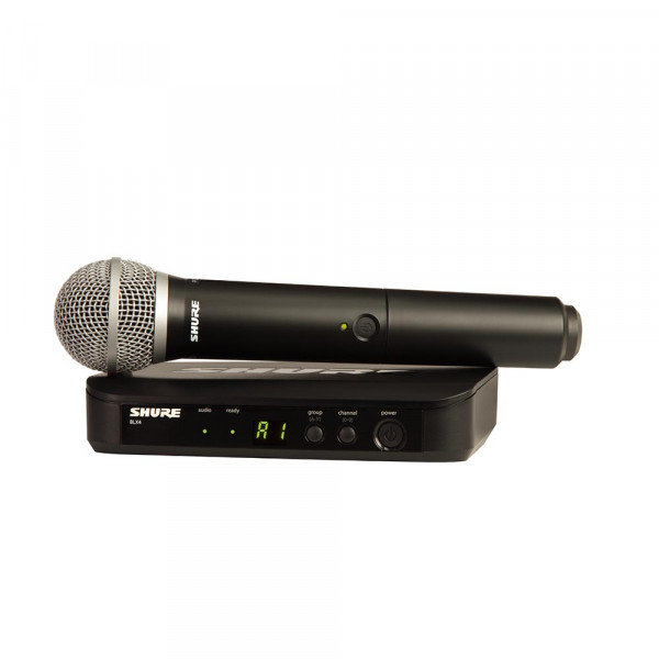 Shure BLX24E/PG58 K14 (614-638 MHz) handheld draadloos