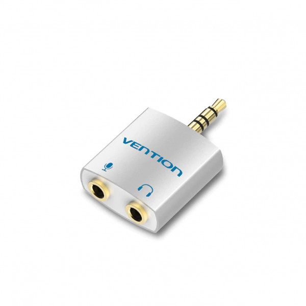 Vention 3.5mm audio adapter TRRS (mic/koptelefoon)