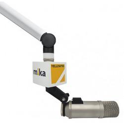 Microfoonflag mount studioarm (bijv. Mika)