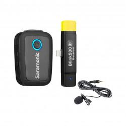 Saramonic Blink 500 B3 draadloos lavalier microfoonsysteem voor Apple iPhone en iPad