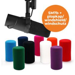 Shure SM7b studio microfoon incl. plopkap