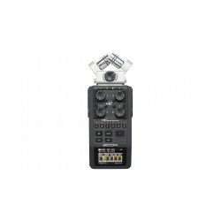 ZOOM H6 Black Six-Track handy recorder
