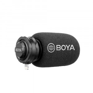BOYA BY-DM200 Digitale Shotgun Microfoon voor iOS