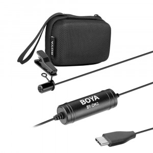 BOYA BY-DM2 Lavalier Microfoon voor Android