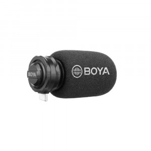 BOYA BY-DM100 Digitale Shotgun Microfoon voor Android USB-C