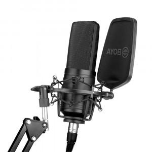 BOYA BY-M1000 Grootmembraan Condensator Microfoon
