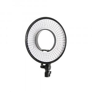Falcon Eyes Bi-Color LED Ringlamp DVR-300DVC op 230V - dimbaar