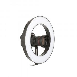 Falcon Eyes Bi-Color LED Ringlamp DVR-384DVC op 230V - dimbaar