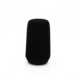 FC4102 zwart geflockt