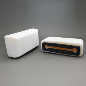 Plopkap voor iPhone Plus / XR / XS MAX / Iphone 11 wit geflockt