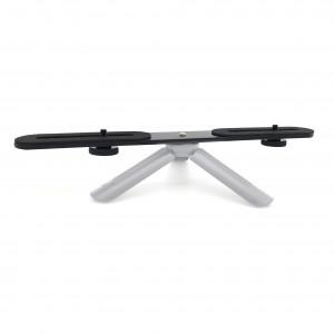 1/4 inch dual mount divider beugel