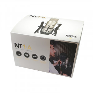 RODE NT1-A condensatormicrofoon studioset