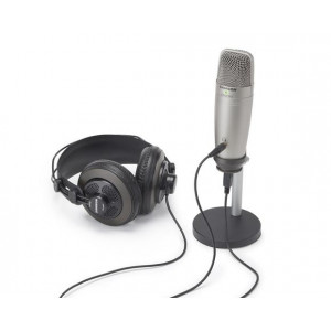 Samson C01U Pro Podcasting Pack + USB studio mic