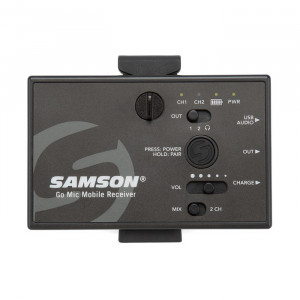 Samson Go Mic Mobile handheld Q8 - SET
