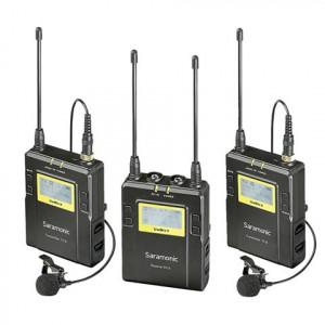 Saramonic UwMic9 TX9 + TX9 + RX9 UHF