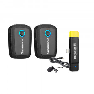 Saramonic Blink 500 B4 draadloos lavalier microfoonsysteem (IOS Lightning)