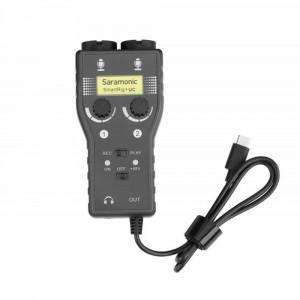 Saramonic microfoonadapter SmartRig+ UC
