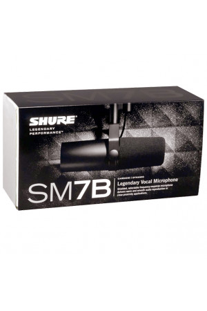 Shure SM7b studio microfoon
