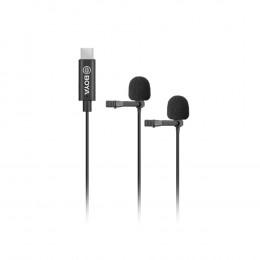 BOYA BY-M3D Duo clip-on lavalier microfoon (USB-C)