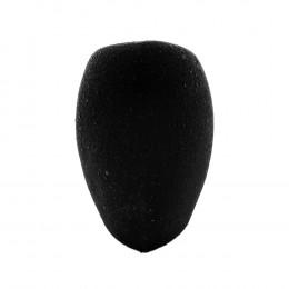 FT1304 zwart geflockt - driehoekig model