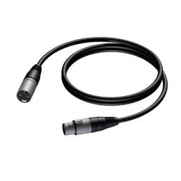 Procab PRA901 PRIME XLR microfoonkabel 3m