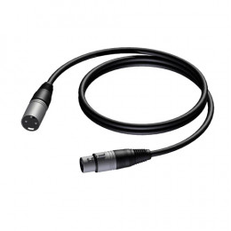 Procab PRA901 PRIME XLR microfoonkabel 10m