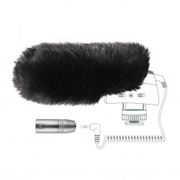 Sennheiser MZW 400 plopkap + adapter