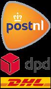 Shipping partner logos